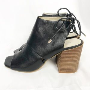 Kenneth Cole Katarina Tie-Back Heel Black